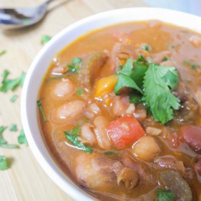 Thai-Style 16 Bean Soup