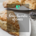 Honey Lavender Scones
