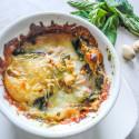 Mini Eggplant Lasagnas with Pesto
