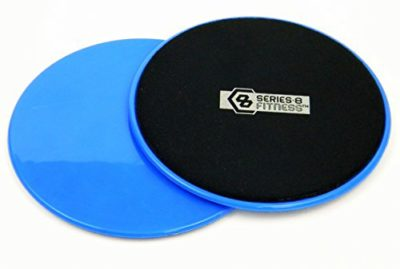 2-Core-Sliders-Gliding-Discs-for-Exercise-Fitness-Dual-Sided-for-Use-on-Carpet-or-Hardwood-Floors-Very-Effective-Core-Trainer-and-Abdominal-Exercise-Equipment-0