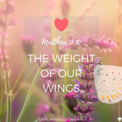 The Weight of Our Wings