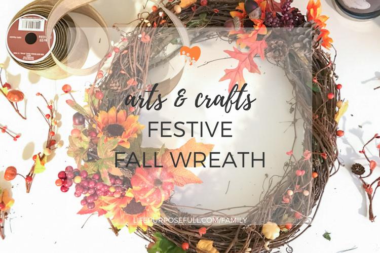 Fall Wreath Craft Tutorial