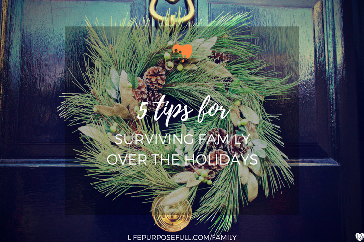 5 Tips for Surviving Family Over the Holidays