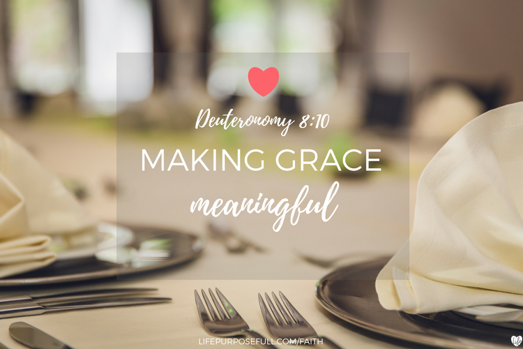 Making Grace Meaningful