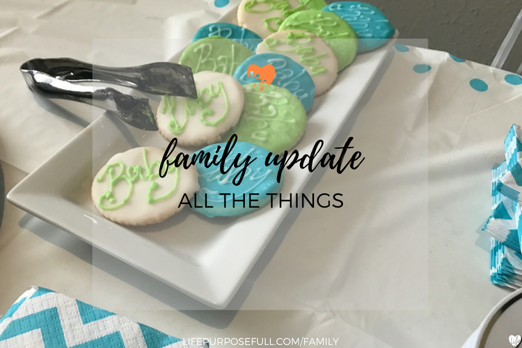 Family Update: All The Things
