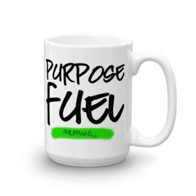 """Purpose Fuel"" 15oz. Mug"