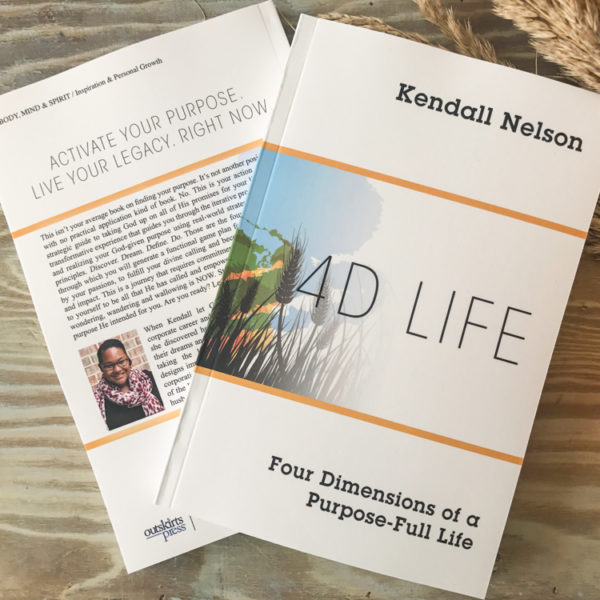 4D Life: Four Dimensions of a Purpose-Full Life is a devotional journey to help you identify your God-given purpose and craft an actionable game plan for living it out.