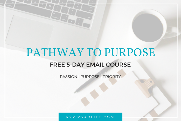 Pathway To Purpose FREE Email Course