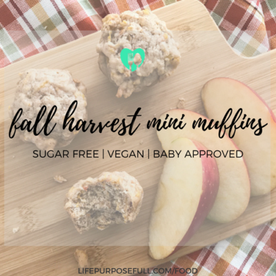 Family Friendly Fall Harvest Muffins