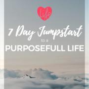 Be Encouraged Purposefull Life